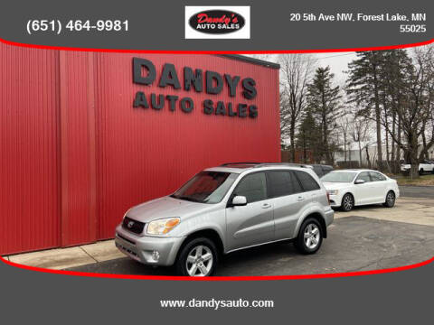 2005 Toyota RAV4 for sale at Dandy's Auto Sales in Forest Lake MN