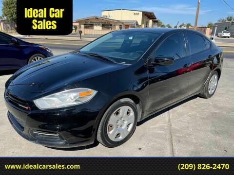 2013 Dodge Dart for sale at Ideal Car Sales in Los Banos CA
