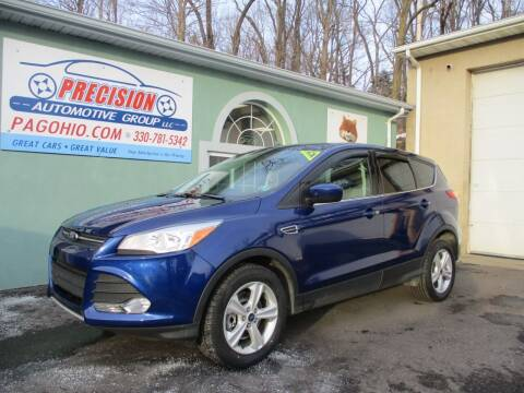 2014 Ford Escape for sale at Precision Automotive Group in Youngstown OH