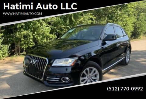 2013 Audi Q5 for sale at Hatimi Auto LLC in Buda TX
