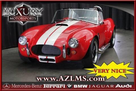 1965 Shelby Cobra for sale at Luxury Motorsports in Phoenix AZ