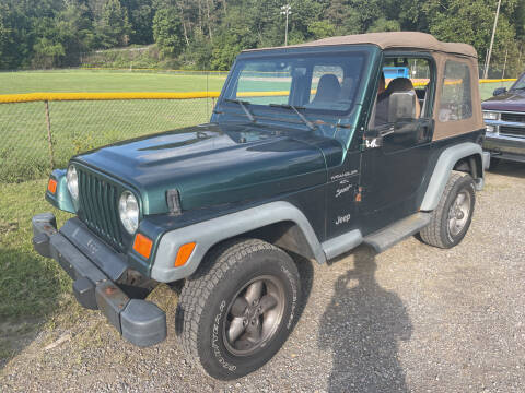 2000 Jeep Wrangler for sale at Trocci's Auto Sales in West Pittsburg PA