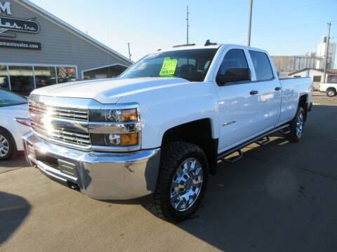 2015 Chevrolet Silverado 2500HD for sale at Dam Auto Sales in Sioux City IA