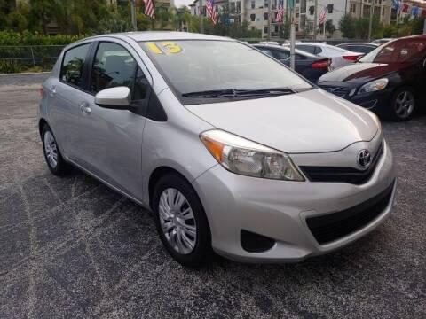 2013 Toyota Yaris for sale at Brascar Auto Sales in Pompano Beach FL