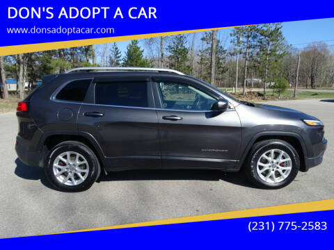 2017 Jeep Cherokee for sale at DON'S ADOPT A CAR in Cadillac MI