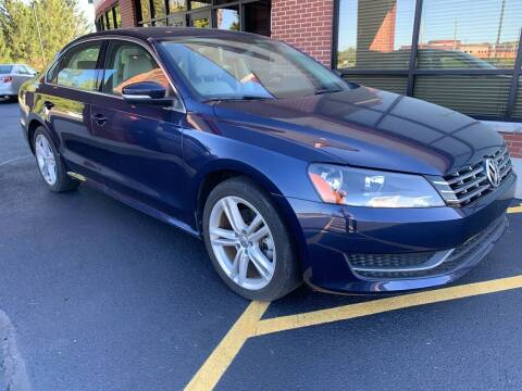 2015 Volkswagen Passat for sale at Quality Motors Inc in Indianapolis IN