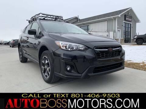 2018 Subaru Crosstrek for sale at Auto Boss in Woodscross UT