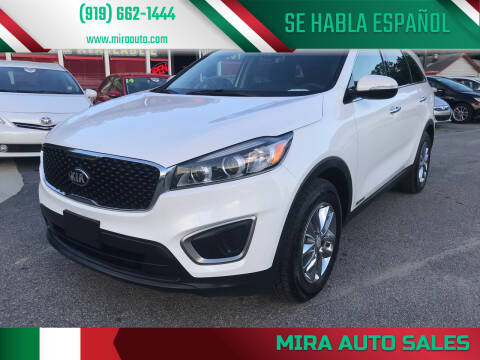 2016 Kia Sorento for sale at Mira Auto Sales in Raleigh NC