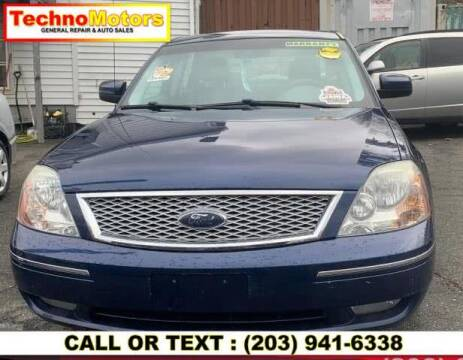2007 Ford Five Hundred for sale at Techno Motors in Danbury CT