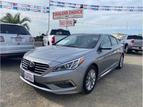 2015 Hyundai Sonata for sale at Dealers Choice Inc in Farmersville CA