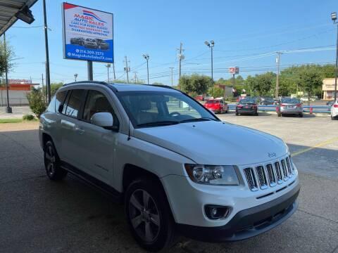 2017 Jeep Compass for sale at Magic Auto Sales in Dallas TX