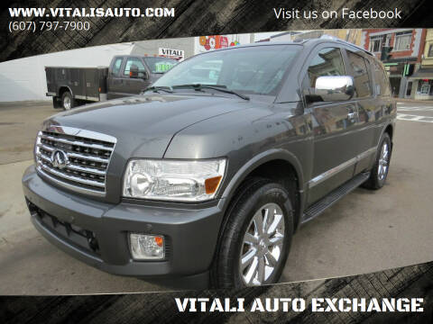 2008 Infiniti QX56 for sale at VITALI AUTO EXCHANGE in Johnson City NY