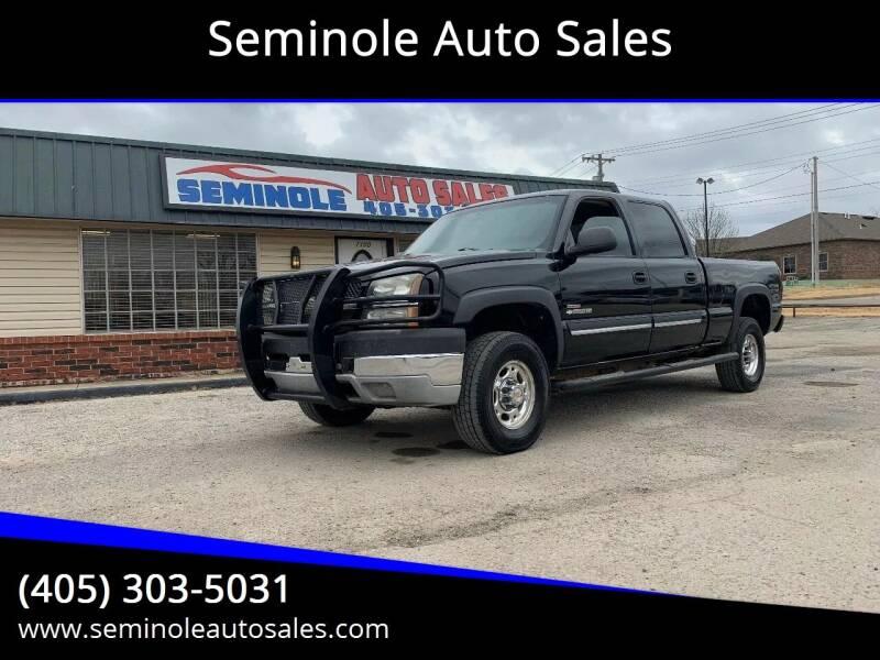 2004 Chevrolet Silverado 2500HD for sale at Seminole Auto Sales in Seminole OK