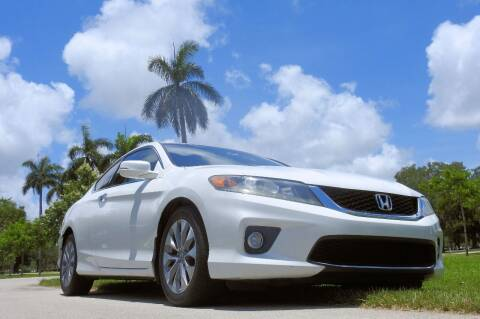 2013 Honda Accord for sale at M.D.V. INTERNATIONAL AUTO CORP in Fort Lauderdale FL