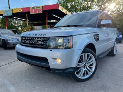 2012 Land Rover Range Rover Sport for sale at Cash Car Outlet in Mckinney TX
