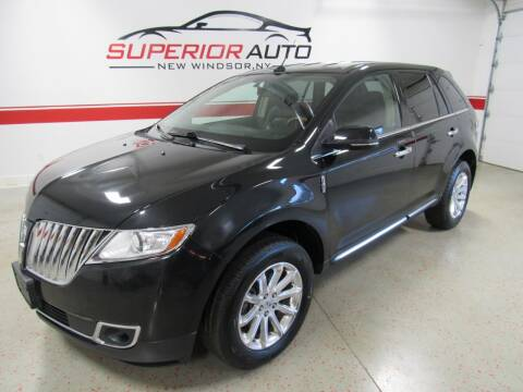 2013 Lincoln MKX for sale at Superior Auto Sales in New Windsor NY