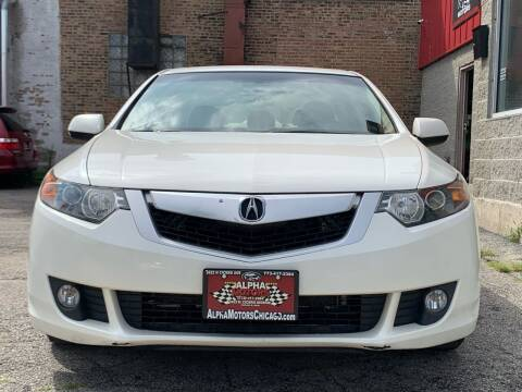 2010 Acura TSX for sale at Alpha Motors in Chicago IL