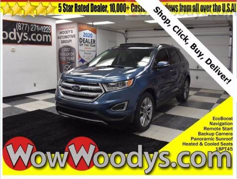 2018 Ford Edge for sale at WOODY'S AUTOMOTIVE GROUP in Chillicothe MO