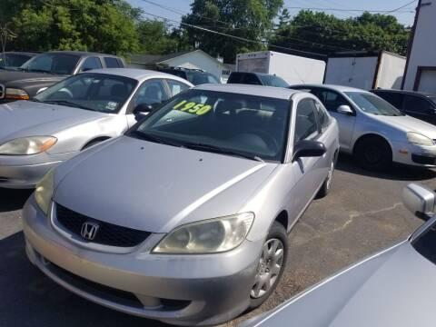 2004 Honda Civic for sale at J & J Used Cars inc in Wayne MI