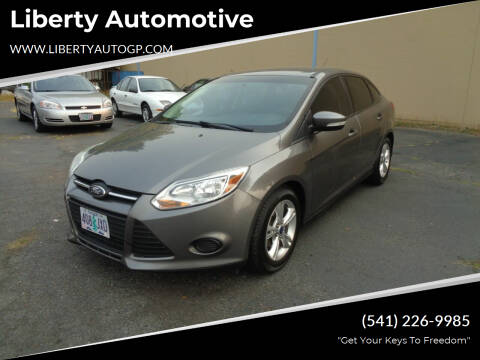 2014 Ford Focus for sale at Liberty Automotive in Grants Pass OR