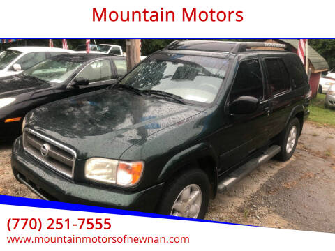 2002 Nissan Pathfinder for sale at Mountain Motors in Newnan GA