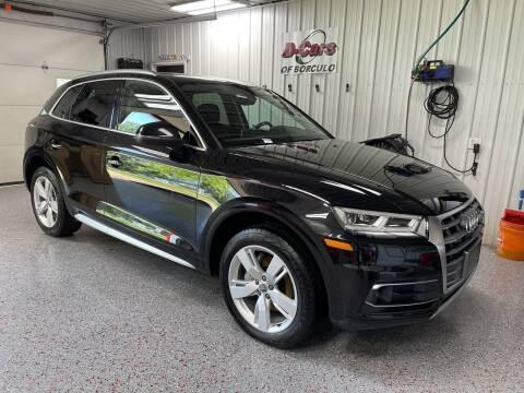 2018 Audi Q5 for sale at D-Cars LLC in Zeeland MI