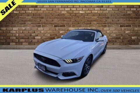 2017 Ford Mustang for sale at Karplus Warehouse in Pacoima CA