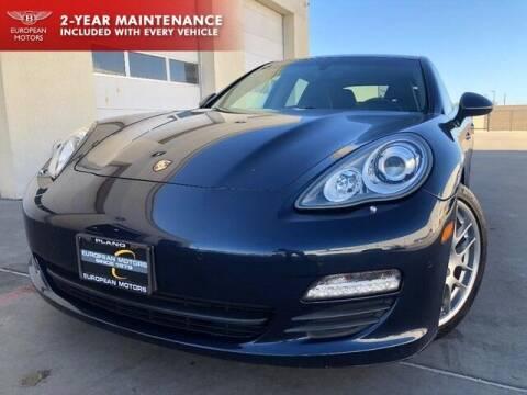2012 Porsche Panamera for sale at European Motors Inc in Plano TX