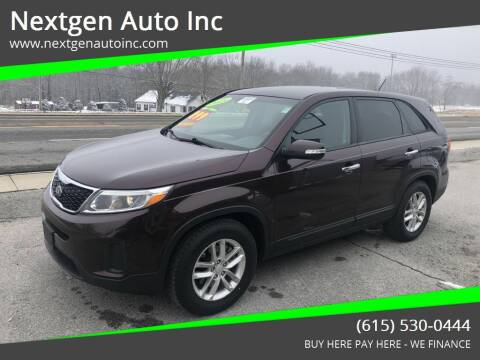 2015 Kia Sorento for sale at Nextgen Auto Inc in Smithville TN