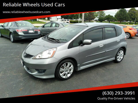 2010 Honda Fit for sale at Reliable Wheels Used Cars in West Chicago IL
