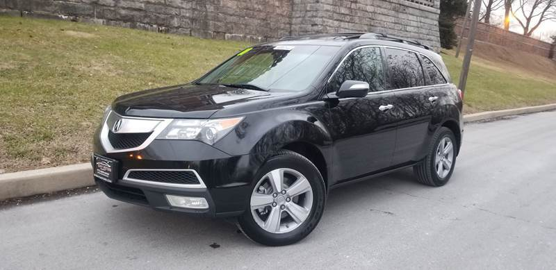 2011 Acura MDX for sale at ENVY MOTORS LLC in Paterson NJ