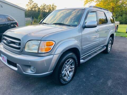 2004 Toyota Sequoia for sale at MBL Auto Woodford in Woodford VA
