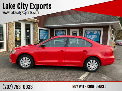 2015 Volkswagen Jetta for sale at Lake City Exports in Auburn ME