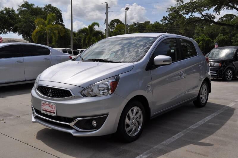 2017 Mitsubishi Mirage for sale at STEPANEK'S AUTO SALES & SERVICE INC. in Vero Beach FL