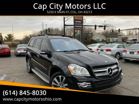 2008 Mercedes-Benz GL-Class for sale at Cap City Motors LLC in Columbus OH