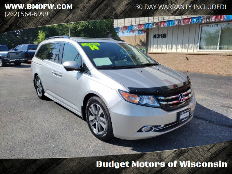 2014 Honda Odyssey for sale at Budget Motors of Wisconsin in Racine WI