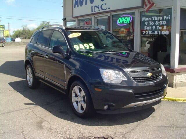 2014 Chevrolet Captiva Sport for sale at G & L Auto Sales Inc in Roseville MI