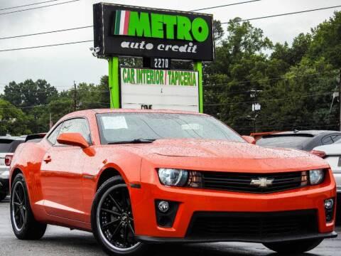 2012 Chevrolet Camaro for sale at Metro Auto Credit in Smyrna GA