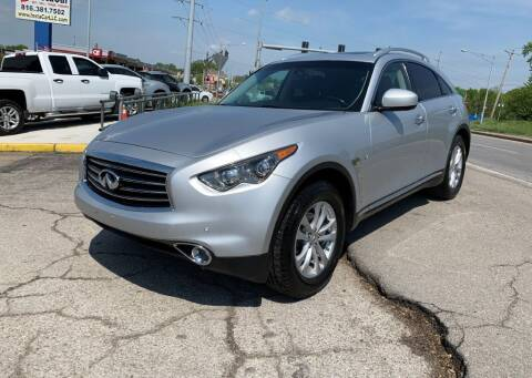2015 Infiniti QX70 for sale at InstaCar LLC in Independence MO
