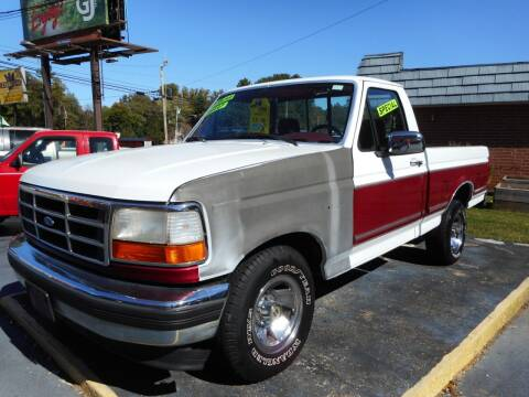 1995 Ford F-150 for sale at Super Sports & Imports in Jonesville NC