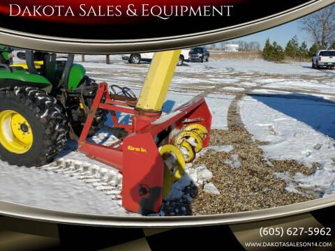 1990 Farm King Snowblower 740 SB for sale at Dakota Sales & Equipment in Arlington SD