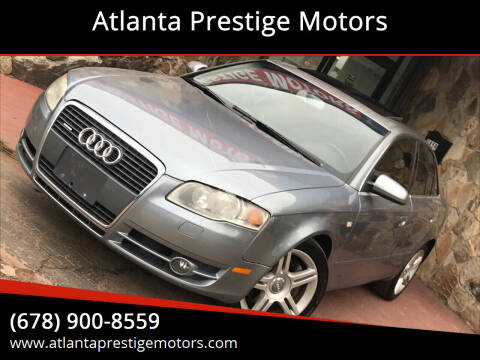 2007 Audi A4 for sale at Atlanta Prestige Motors in Decatur GA