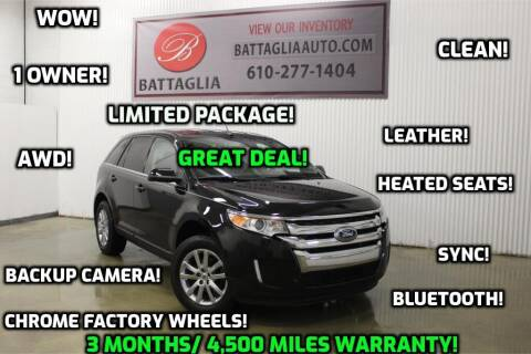 2014 Ford Edge for sale at Battaglia Auto Sales in Plymouth Meeting PA