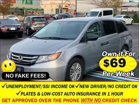 2016 Honda Odyssey for sale at AUTOFYND in Elmont NY