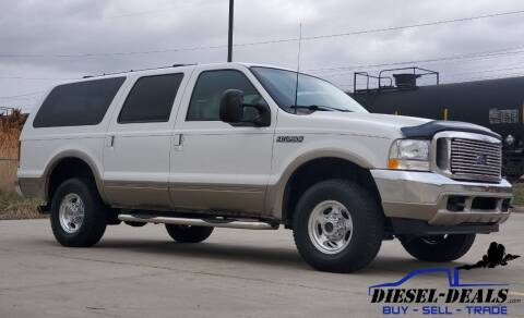 2000 Ford Excursion for sale at DIESEL DEALS in Salt Lake City UT