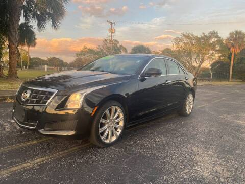 2013 Cadillac ATS for sale at Lamberti Auto Collection in Plantation FL
