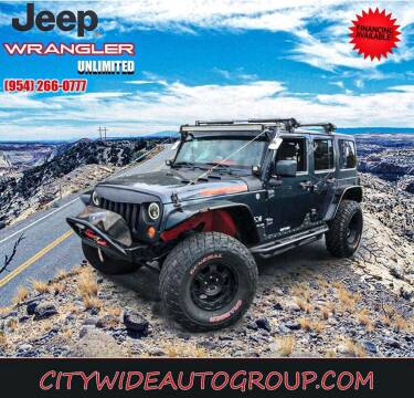 2007 Jeep Wrangler Unlimited for sale at Citywide Auto Group LLC in Pompano Beach FL
