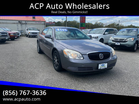 2007 Buick Lucerne for sale at ACP Auto Wholesalers in Berlin NJ