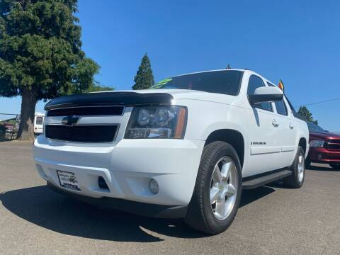 2007 Chevrolet Avalanche for sale at Pacific Auto LLC in Woodburn OR