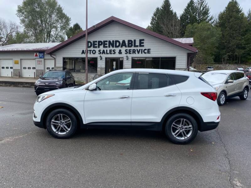 2018 Hyundai Santa Fe Sport for sale at Dependable Auto Sales and Service in Binghamton NY